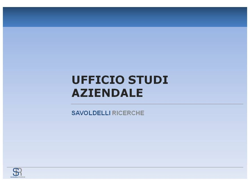 Copertina Ufficio Studi